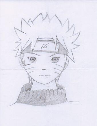 Mon premier dessin Naruto10