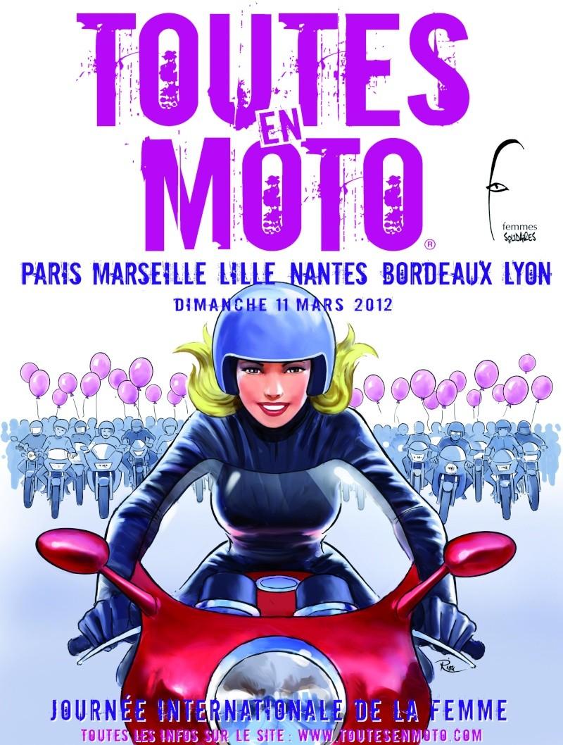 Toutes en moto le 11 mars pour la journée de la femme  ! Affich10