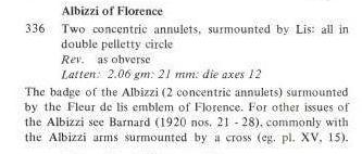 Jeton de la famille de banquiers Albizzi de Florence Jeton_11