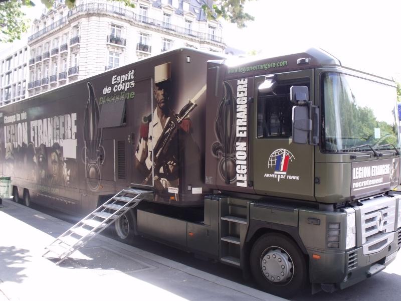 Le camion podium de la Légion Etrangère Dscf2119