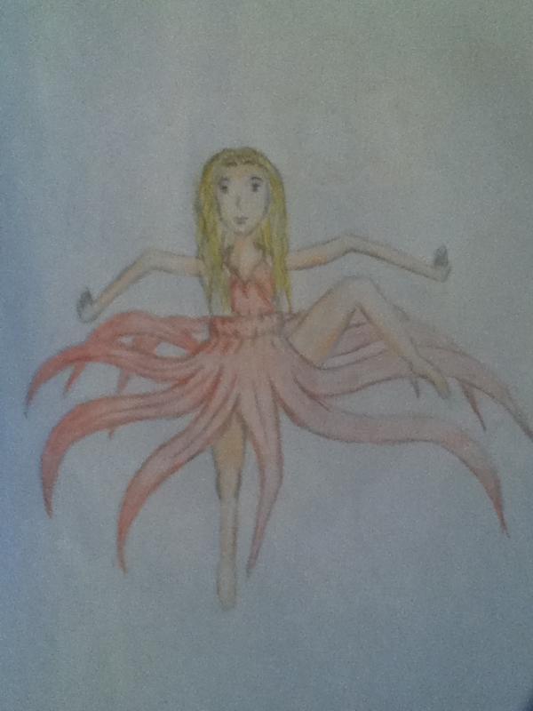 danseuse fleur Th896y10
