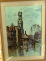ANOTHER PEN AND WATERCOLOUR FOUND TODAY ANYONE HEARD OF THE ARTIST 00110
