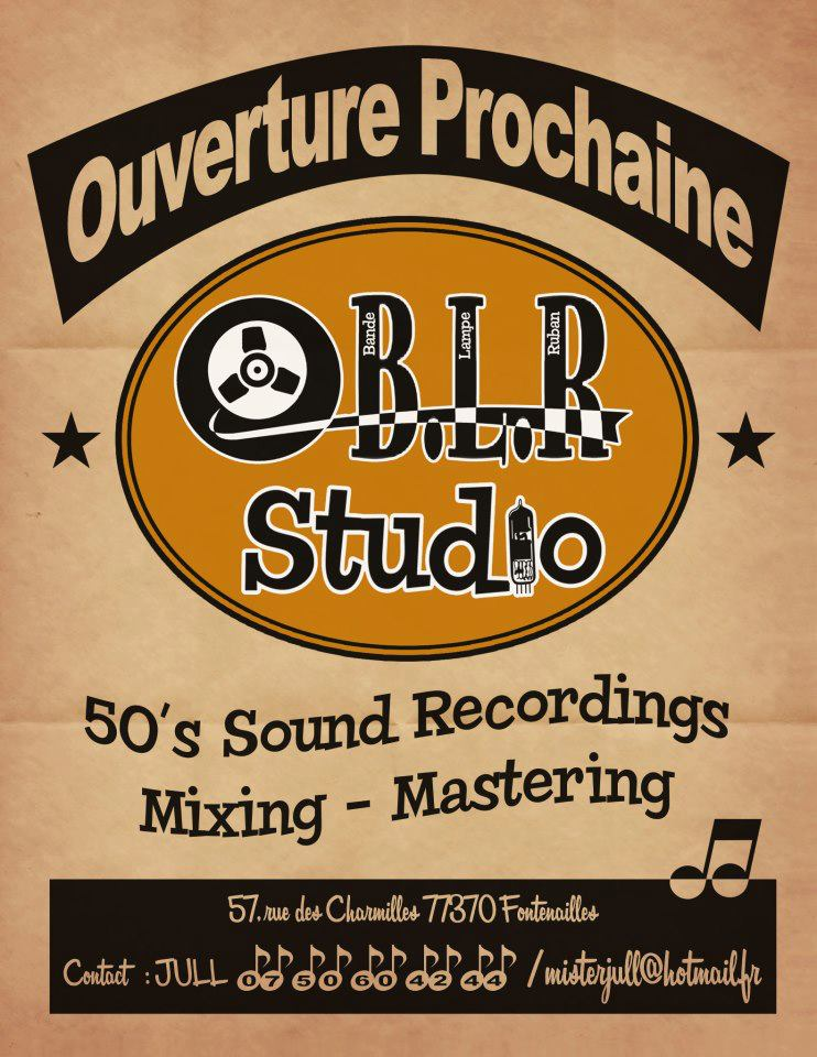 New BLR Studio (50's Sound Recording) Blr10