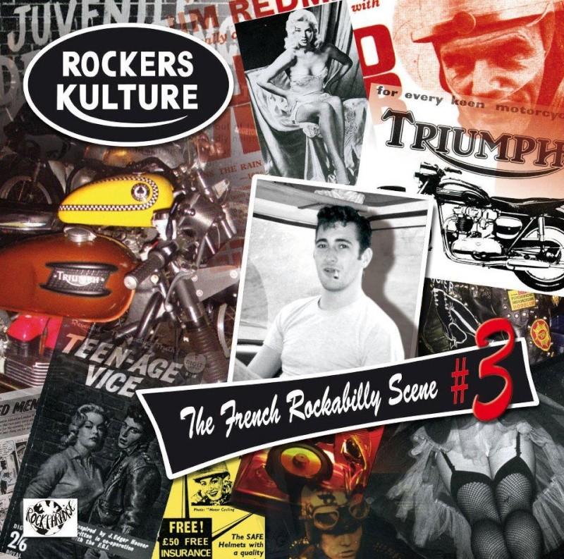 "Compile Rockers Kulture""french rockabilly scene""#3 Rk10"