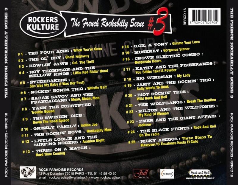 "Compile Rockers Kulture""french rockabilly scene""#3 Rkback10"