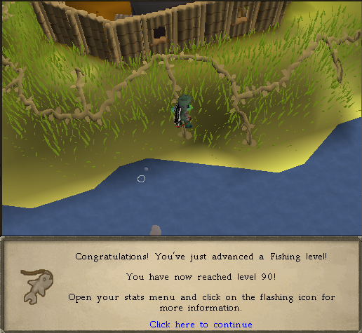 The Journey to 99 Fishing - By Blitz  90fish10