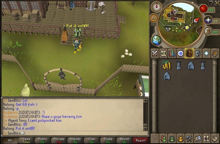 Blitz's Fishing Party Buying11