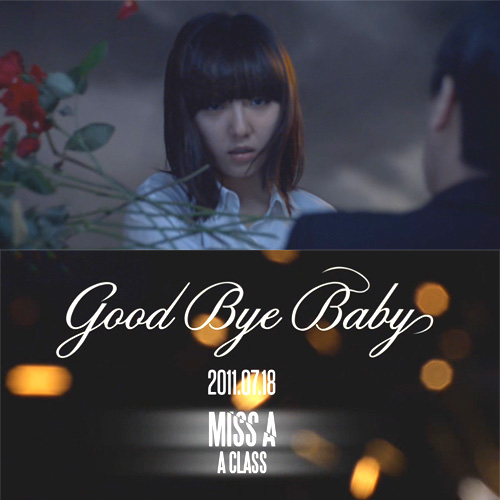 "[Miss A]miss A reveals teaser for ""Good Bye Baby"" MV feat. Min 20110710"