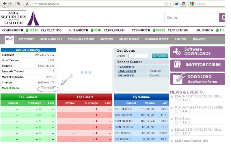 Asia securities web site!!-->showing best figures Asia10