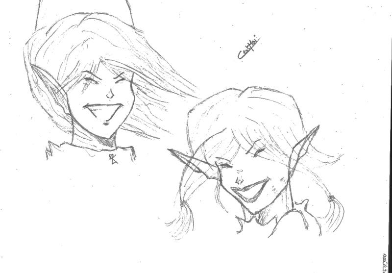 Mes dessins et autres ( Cestmoi ) Elfes_10