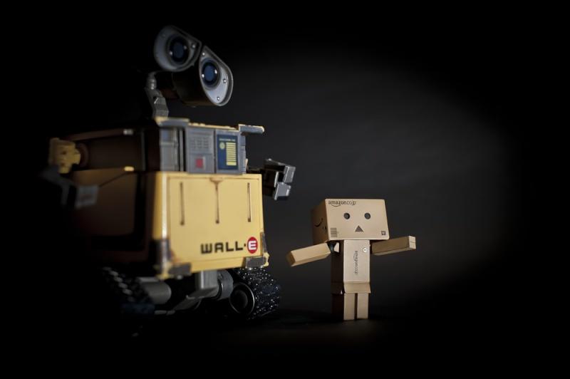 Wall-E ha un nuovo amico ... Wall-e10
