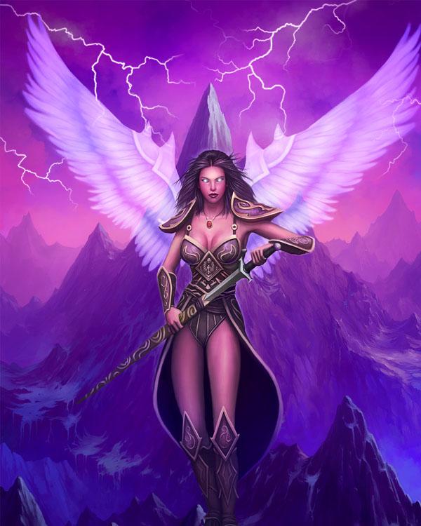 Мир ангелов Angel-10