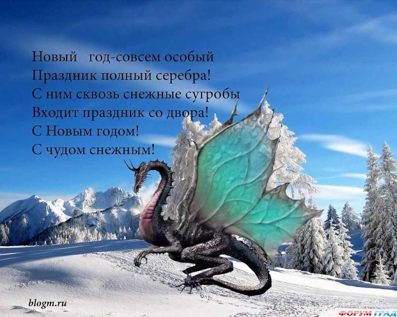 Новогодние ДРАКОНЫ Otkrit10