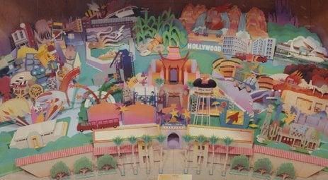 avez vous deja vu cette maquette du projet des WDS d'origine ( Disney MGM studios Europe ) ? 24525910