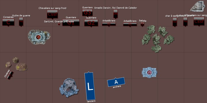 Stratégie de bataille: Guerre de Terreur. Guerre10