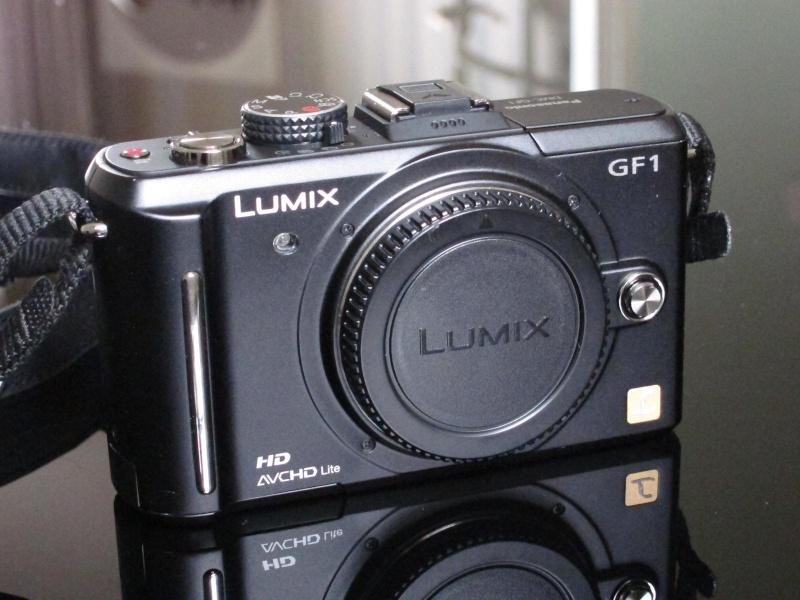 [VENDU] Panasonic DMC-GF1 NU Noir avec boite, [VENDU] Img_1222
