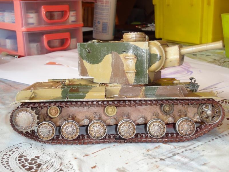 KV-2  1/35  Trumpeter  capture allemande Kv-2_110