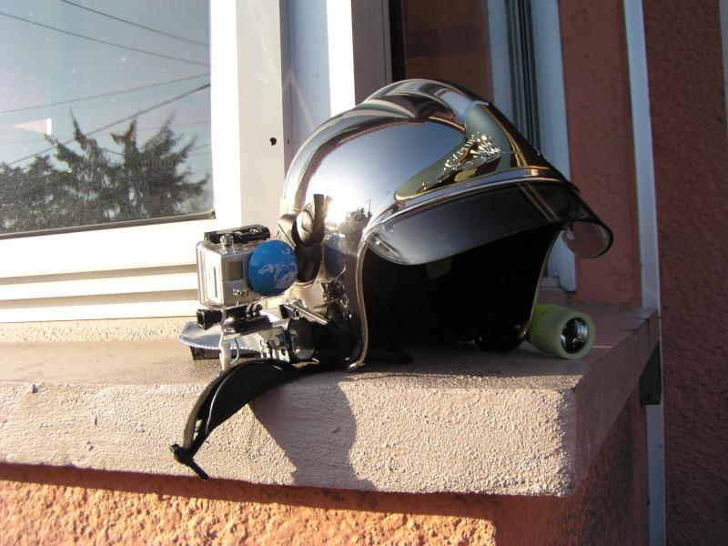 Montage sur 1 casque de sapeur pompier (type F1) P1010316