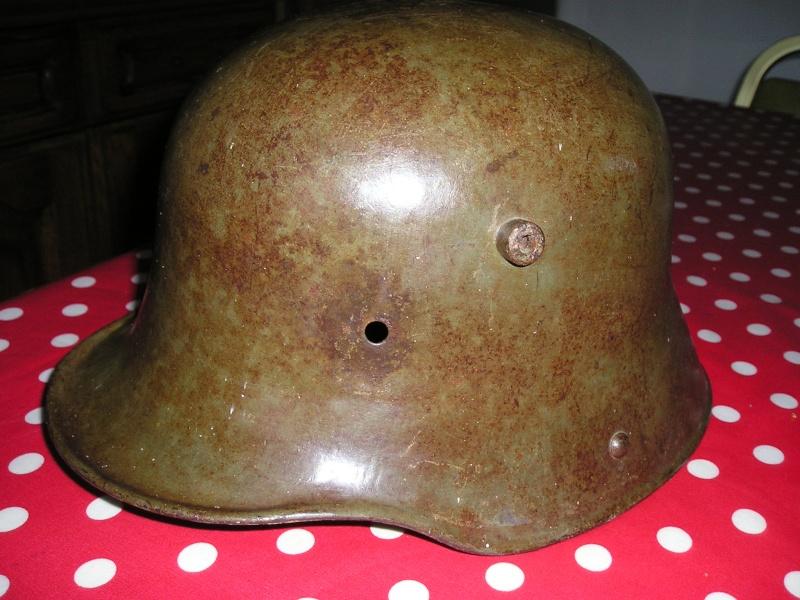 presentation d'un casque trouvé dans un vide grenier  Cuiras20