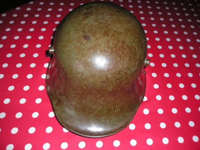 presentation d'un casque trouvé dans un vide grenier  Cuiras22