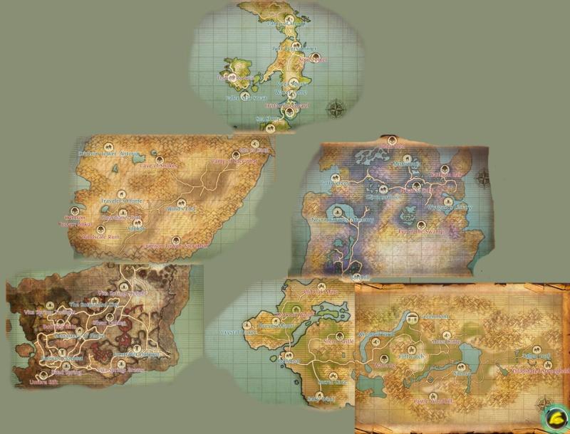 [Guide] Cartes du monde Map10