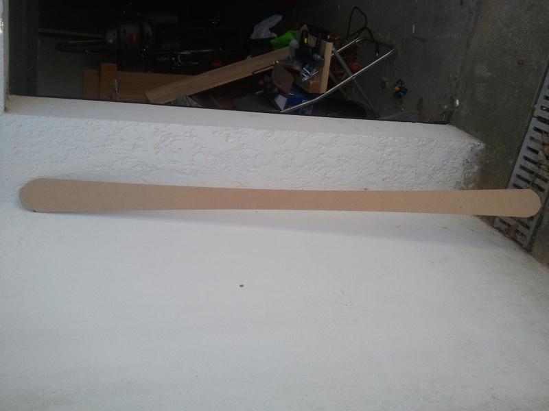 Réalisation d'un paire de skis 2011-110