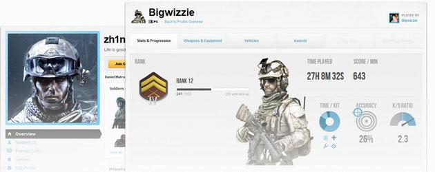 Tráiler del Battlelog para Battlefield 3 B13110