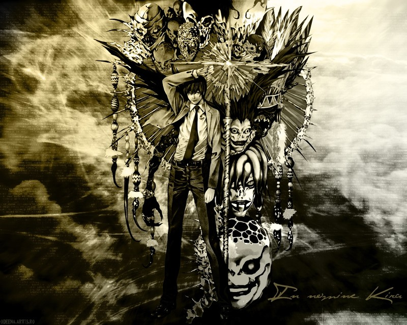 Death Note seas o no fan de el anime tienes que verlo Kawapa10