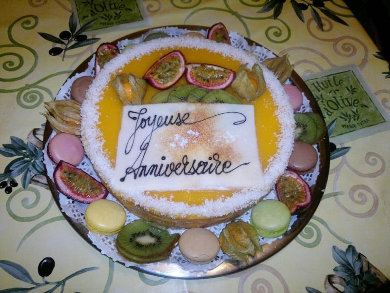 Bavarois aux fruits exotiques 12112011