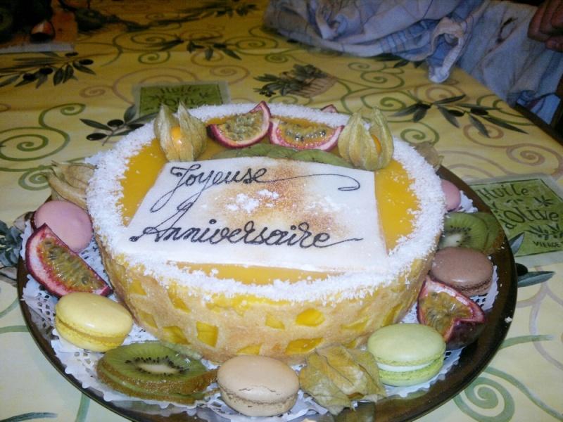 Bavarois aux fruits exotiques 12112012