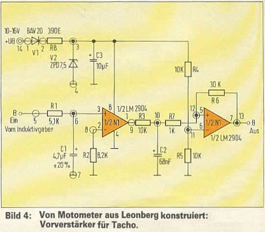 Speedometer, Tachometer, and Cogs near breaks 00210