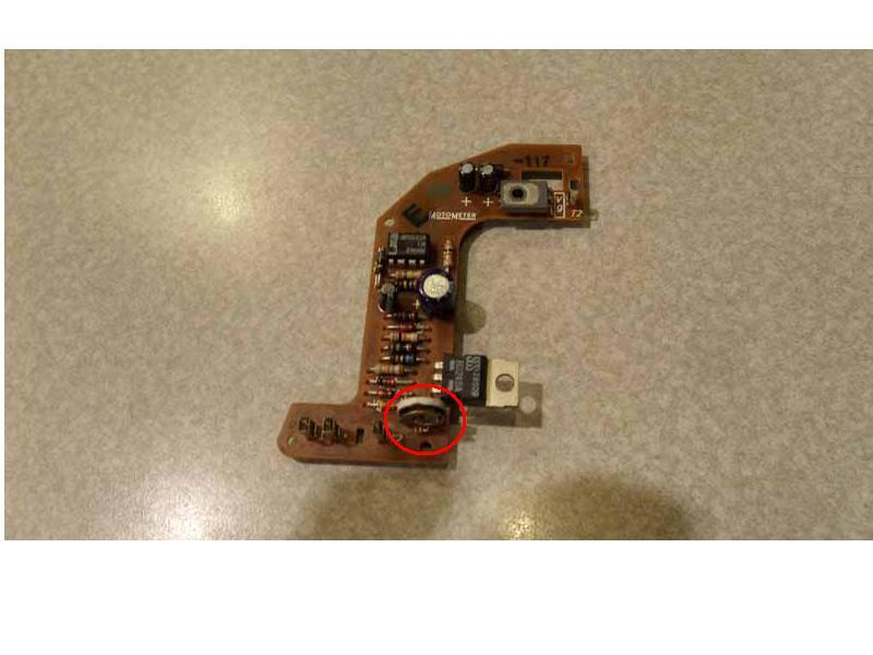 dual fuel indicator Pcb10