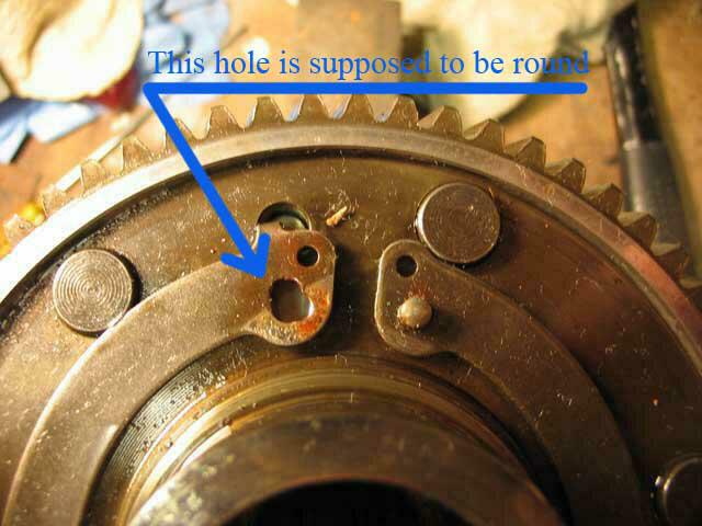 Rattlng noise from gearbox area on 1985 K100RT Shaft_11