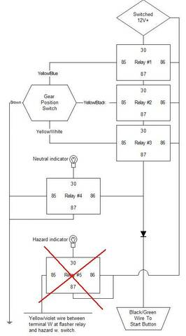 My K100 Cafe racer project story K Ze Wiring Diagram on