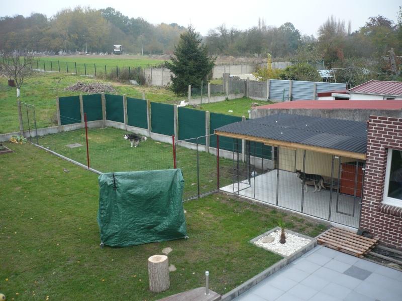 construction d un chenil de 15 m² P1020613