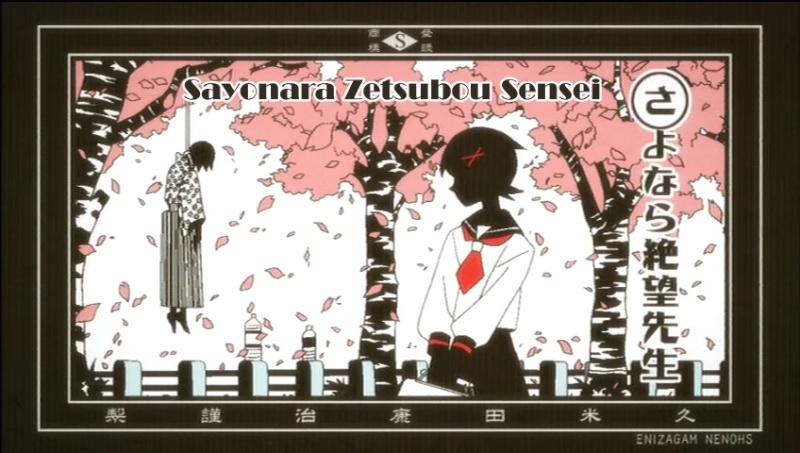Sayonara Zetsubou Sensei (Sayonara Monsieur Désespoir) Fuktlo10