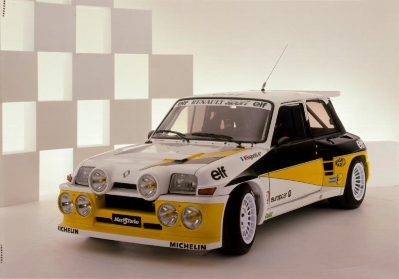 restauration r5 alpine turbo kit maxi au couleur renault Coa19810