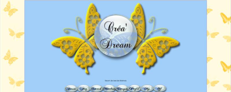 Les anciens thèmes de créa'dream Butter10