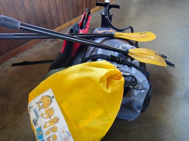 Mon choix de Kayak Gonflable (K-G) Sac1110