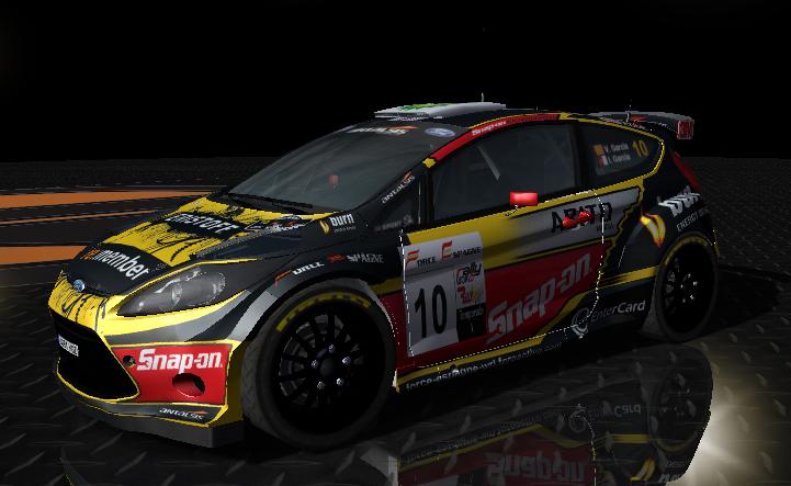 Fotos del nuevo skin del Ford Fiesta S2000 FE WRT del campeonato Nacional Fiesta21