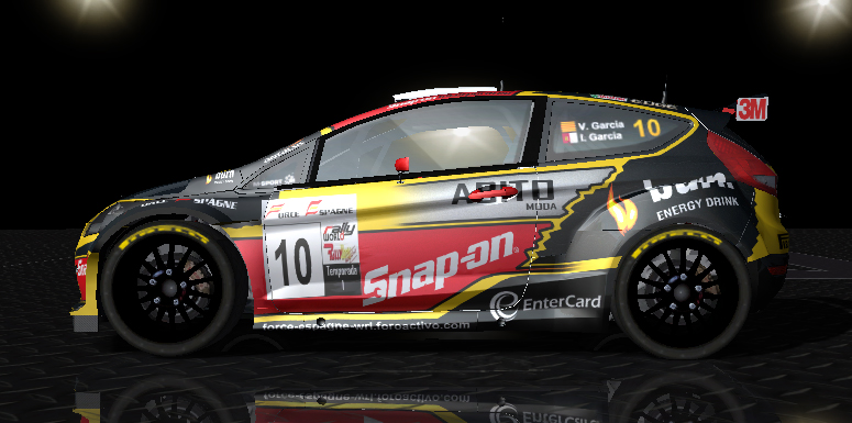 Fotos del nuevo skin del Ford Fiesta S2000 FE WRT del campeonato Nacional Fiesta22