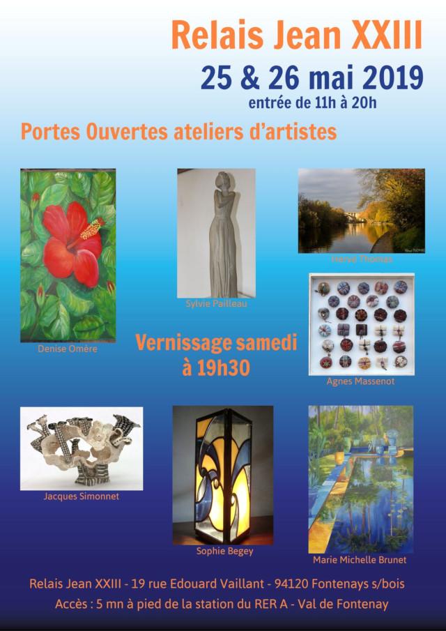 Exposition au Relais Jean XXIII Flyer_10