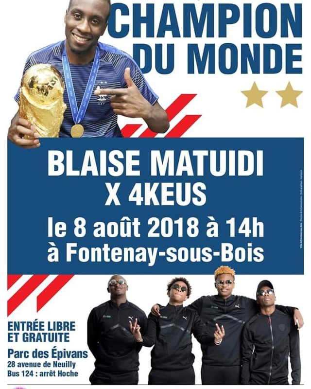 Football - Blaise Matuidi - Champion du Monde 2018 Matuid10