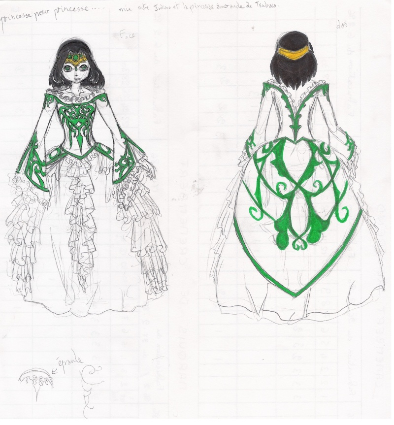 heuuu, je crois que ce sont mes dessins, de Moyo.... J_prin10