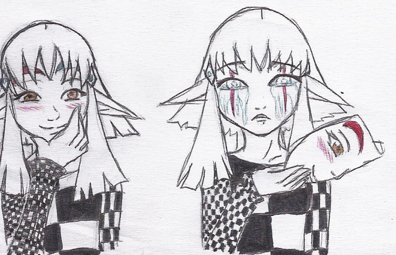 heuuu, je crois que ce sont mes dessins, de Moyo.... Masque10