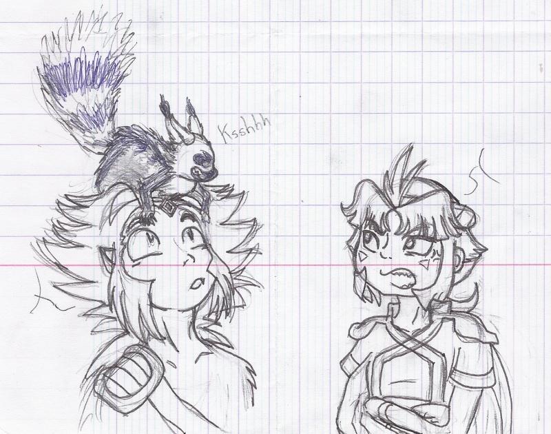 heuuu, je crois que ce sont mes dessins, de Moyo.... - Page 10 Slemur10