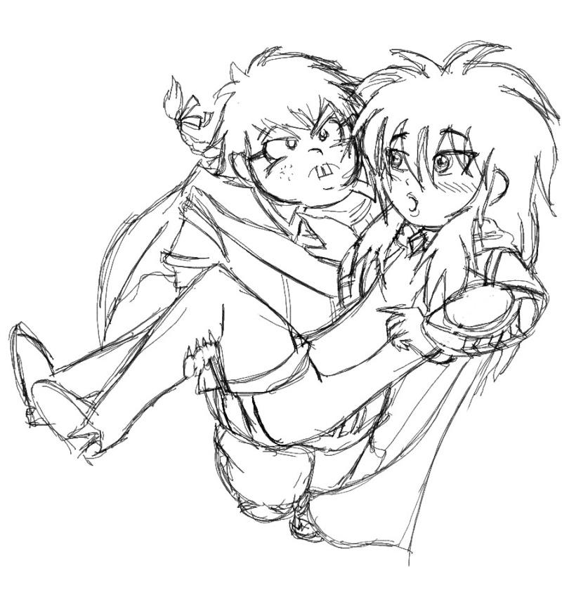 heuuu, je crois que ce sont mes dessins, de Moyo.... T_r_ho10