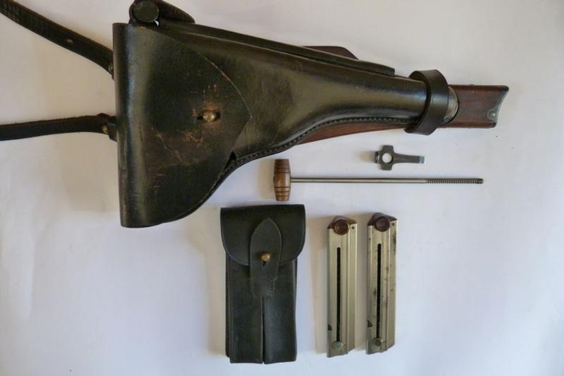 Les étuis et accessoires des Luger commerciaux, dit de marine, 1906-1930. 00127
