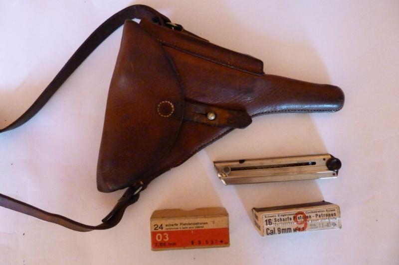 Les étuis et accessoires des Luger suisses de 1925 à 1949 00320