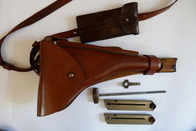 Les étuis et accessoires des Luger commerciaux, dit de marine, 1906-1930. 00327